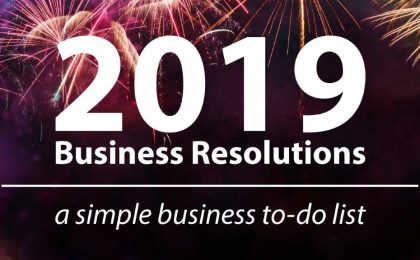 2019 business resolutions