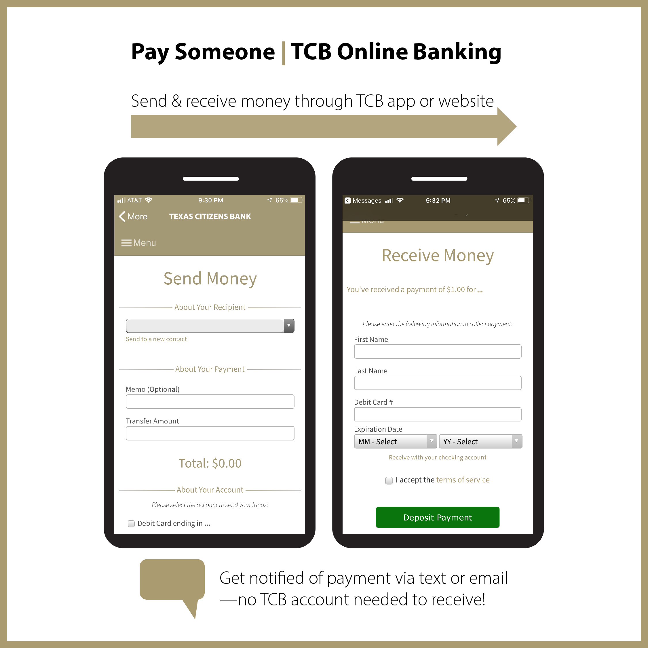 Pay Someone - Mobile